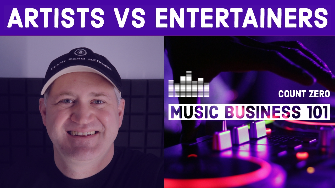 ARTISTS VS ENTERTAINERS