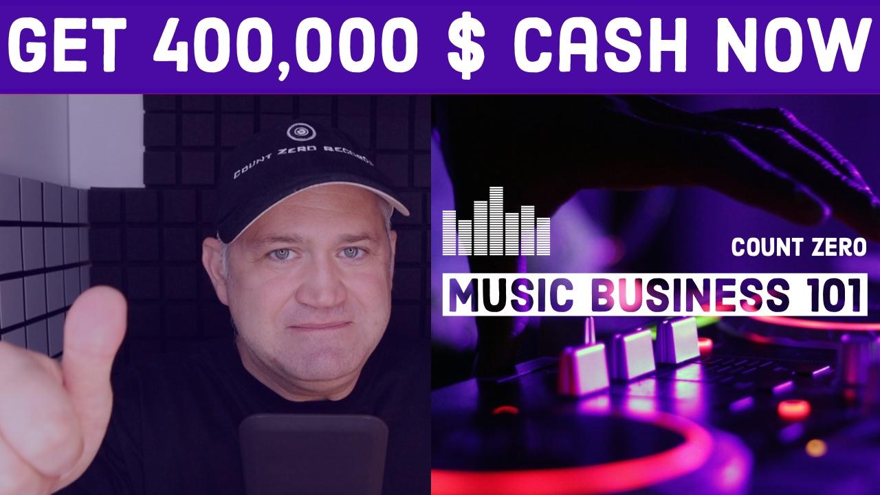 Get 400,000 $ CASH NOW
