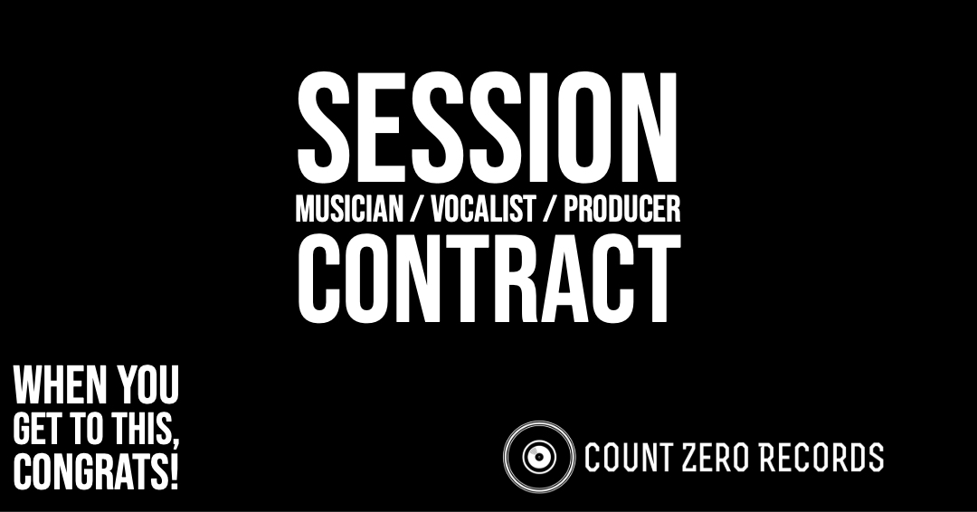 Session Musician / Vocalist / Producer Contract