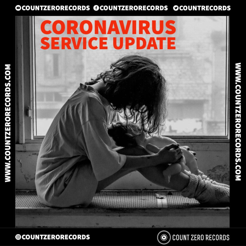 Corona Virus Service Update