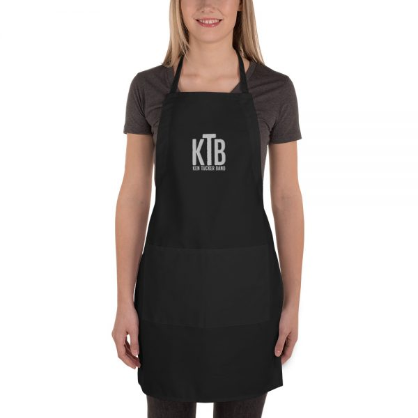 Ken Tucker Band Embroidered Apron
