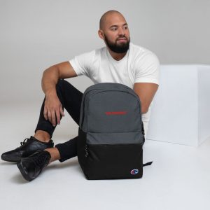 Dr. Skendy Embroidered Champion Backpack
