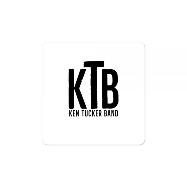 Ken Tucker Band Bubble-free stickers