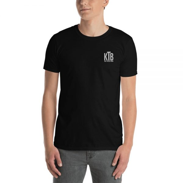 Ken Tucker Band Embroidered Short-Sleeve Basic T-Shirt