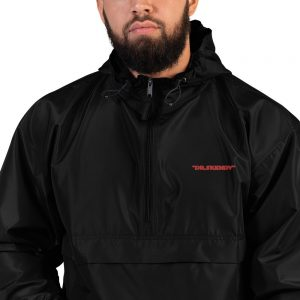 Dr. Skendy Embroidered Champion Packable Jacket