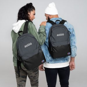 AViiiO Official Logo Embroidered Champion Backpack