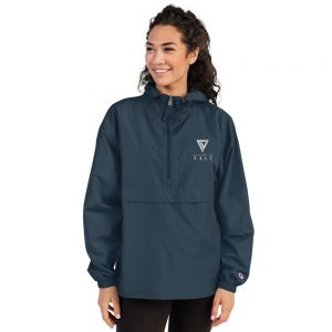 Christian Vale Embroidered Champion Packable Jacket