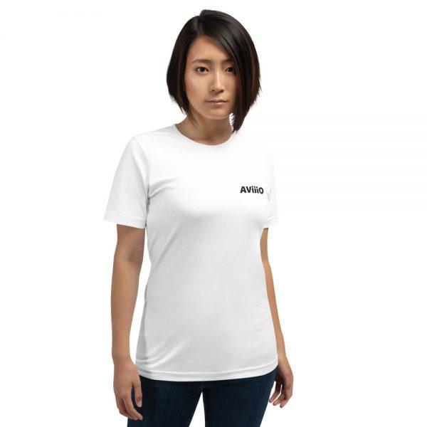AViiiO Official Logo Embroidered Premium Short-Sleeve Unisex T-Shirt