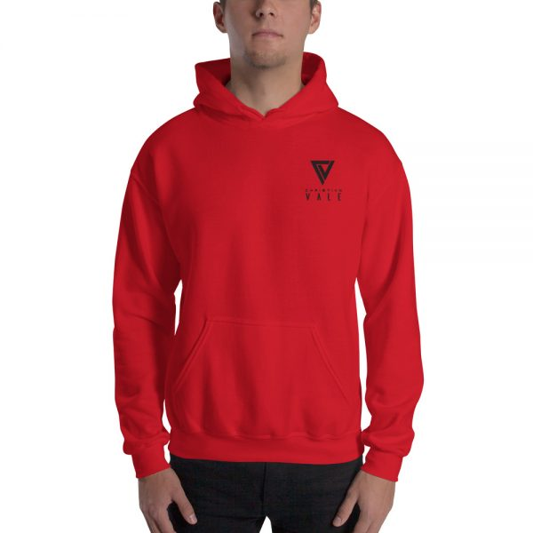 Christian Vale Official Logo Embroidered Unisex Hoodie Bright