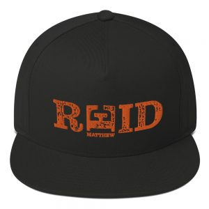 Mathew Reid Official Embroidered Flat Bill Cap Black
