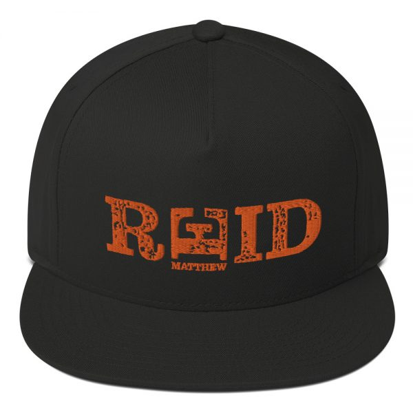 Mathew Reid Official Embroidered Flat Bill Cap Black