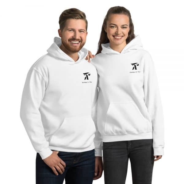 Karma's Tea Official Logo Premium Embroidered Unisex Hoodie