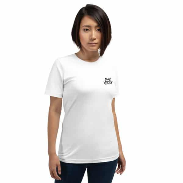 Max Vizion Official Logo Embroidered Premium Short-Sleeve Unisex T-Shirt