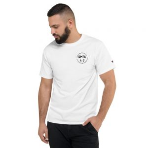 DMTS Official Logo Premium Embroidered Champion T-Shirt