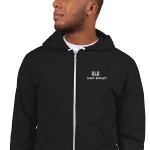 Record Label Boss Decent Effort!  American Apparel Zip up Hoodie sweater