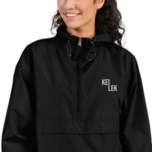 Kei Lek Premium Unisex Embroidered Champion Packable Jacket