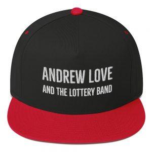 Andrew Love Embossed Premium Flat Bill Cap
