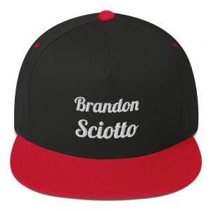 Brandon Sciotto Embossed Premium Flat Bill Cap