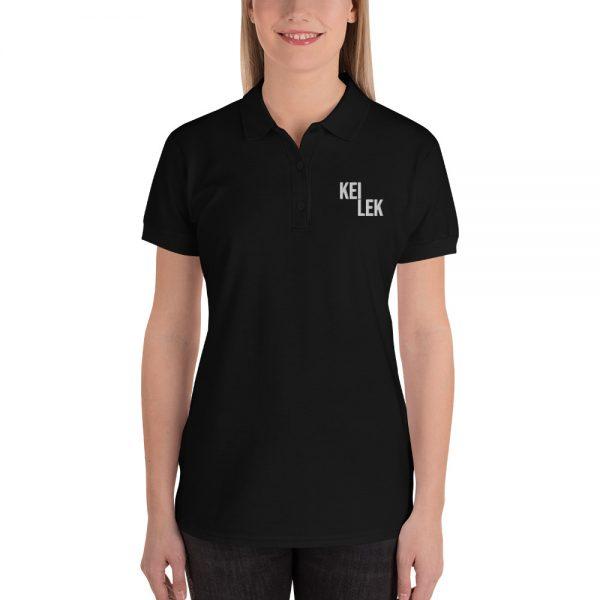 Kei Lek Premium Embroidered Women's Polo Shirt