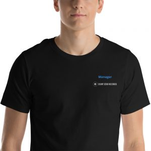 "STAFF - ""Manager"" Short-Sleeve Unisex T-Shirt"